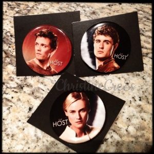 Trio of buttons- The Host
