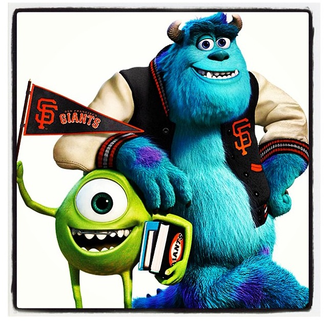 SF Giants- Pixar Night