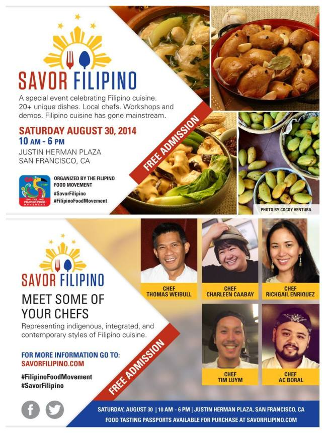 #SavorFilipino #FilipinoFoodMovement
